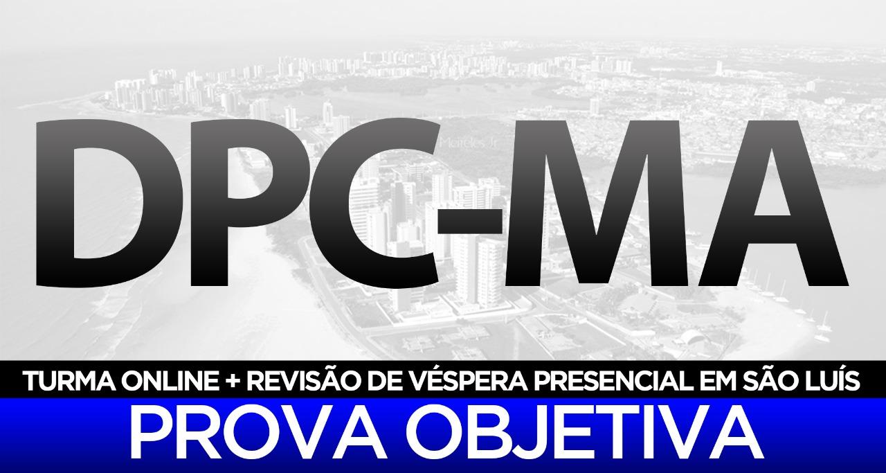 Turma de reta final para o concurso de Delegado de Polícia Civil do Maranhão, com direcionamento específico para o edital do Estado