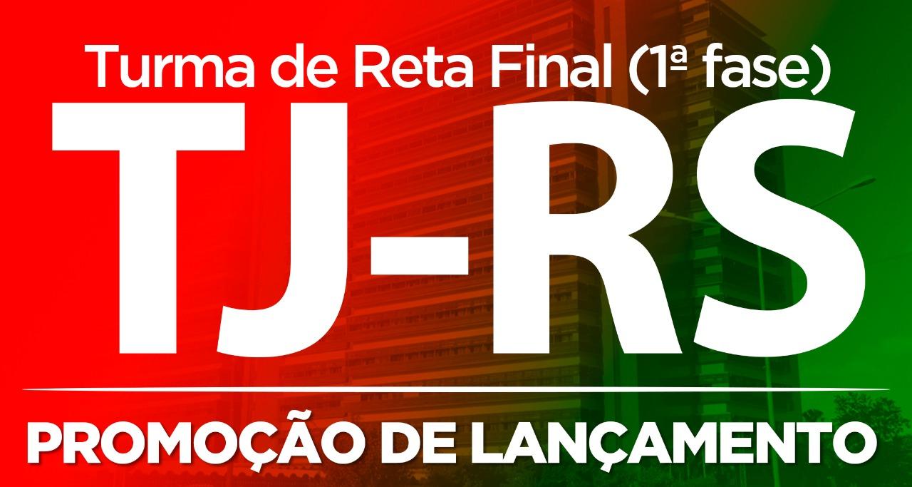 Mega de Revisão de Véspera TJ-RS (Porto Alegre - RS)