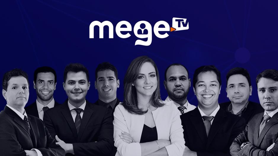 Está no ar o primeiro webcanal totalmente voltado para o concurseiro. O MegeTV. Conteúdos diferenciados, que ajudaram você na sua preparação. Clique na imagem e fique por dentro da programação.
