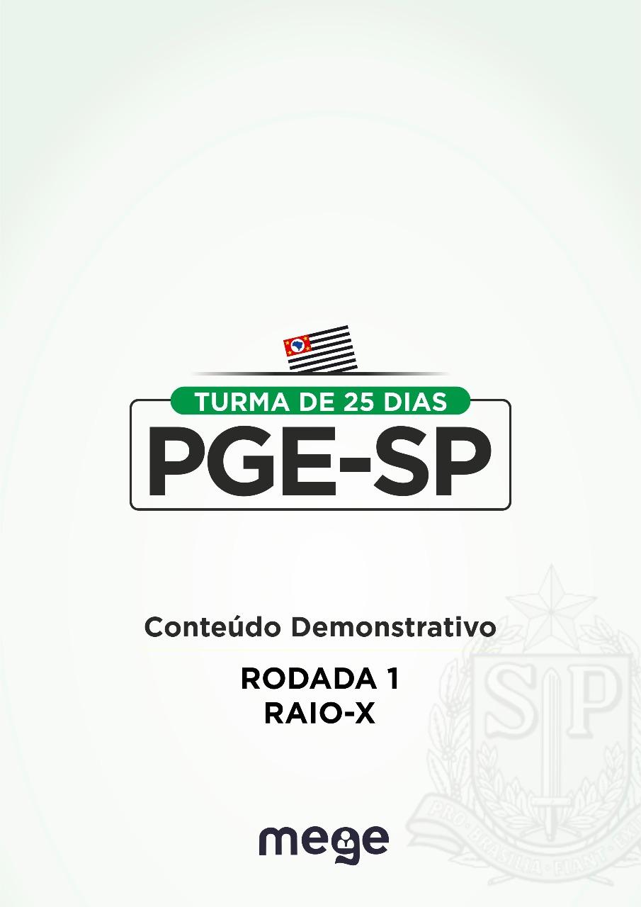 Dois e-books produzidos pela equipe Mege Defensoria Pública para auxiliar você a alcançar a aprovação no concurso da PGE-SP.