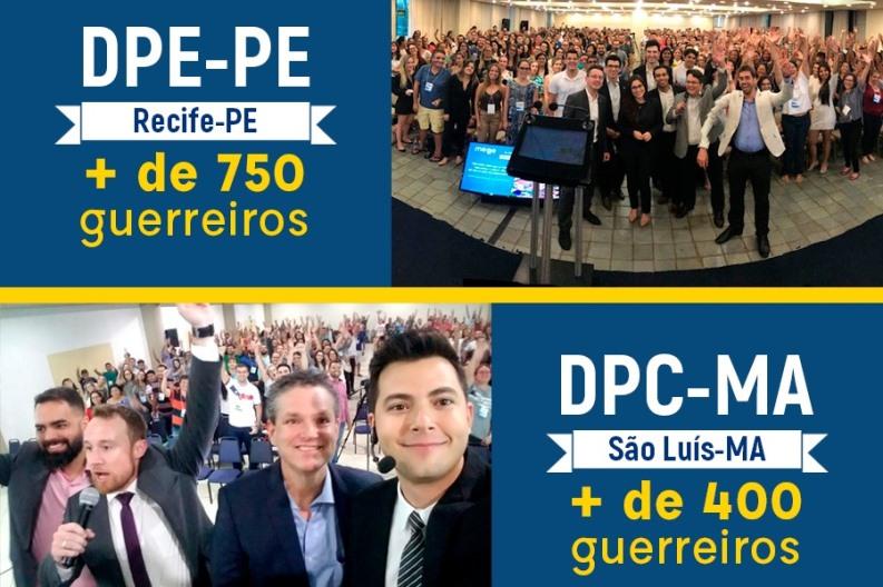 Eventos foram dedicados aos concursos da DPE-PE e da DPC-MA
