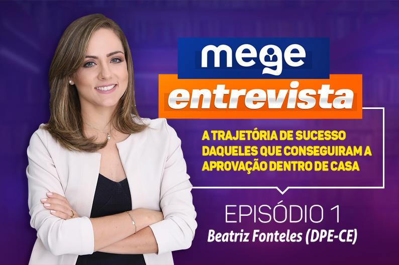 Beatriz Fonteles, Defensora Pública no Ceará, conta a sua trajetória até a aprovação