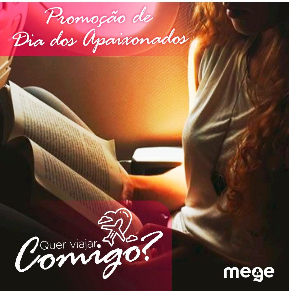Promoção de Dia dos Namorados do Mege leva você para a sua próxima prova