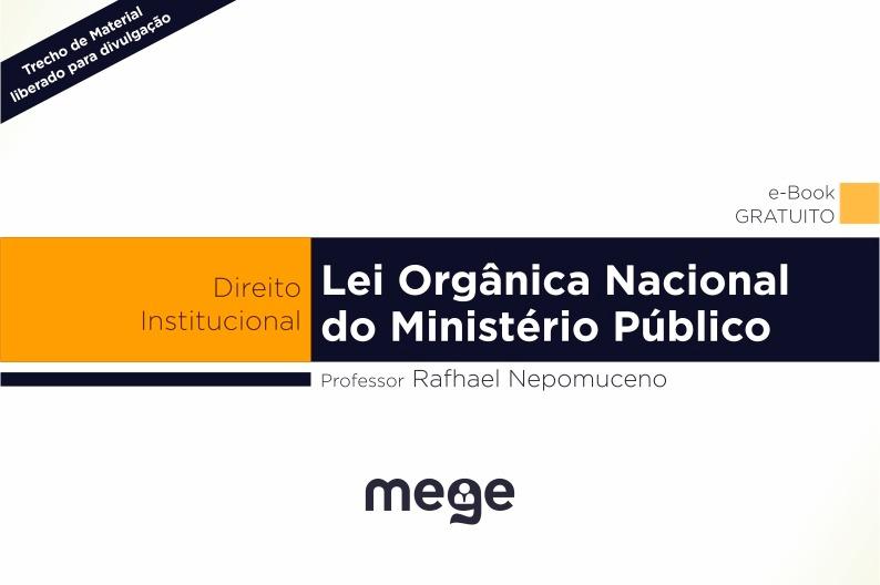 Este e outros materiais estão disponíveis na 5ª Turma Regular de Ministério Público
