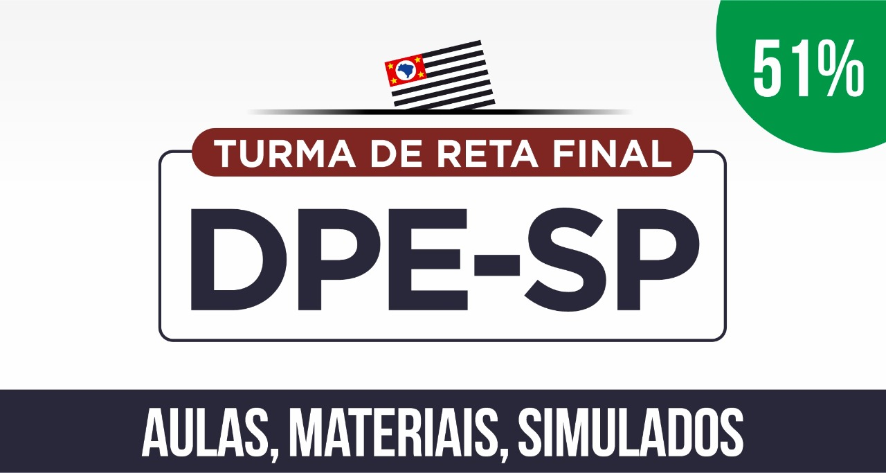 DPE-SP 2019 (Turma de Reta Final)